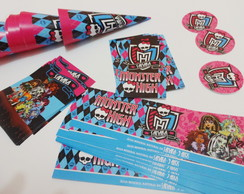 Kit festa monster high frete gratis
