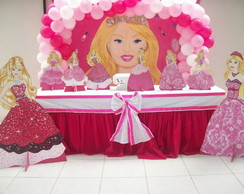Mesa Tem�tica Barbie MDFou Proven�al