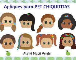 Molde Apliques Para Pet CHIQUITITAS