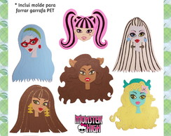 Molde Apliques Monster High