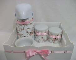 Kit Higiene Proven�al Mini Rosas