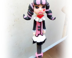 Caneta decorada Draculaura Monster High