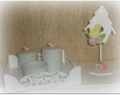 kit de higiene passarinho
