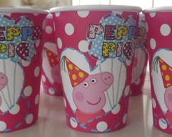 Copo de Papel Peppa Pig 8 un. - Promo