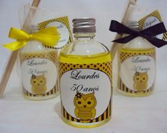 aromatizador 60 ml (corujas) amarelo