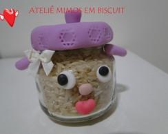 Panela de Biscuit -Potes de Papinhas