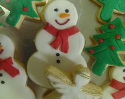 Biscoitos De Natal Grandes