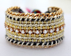50% off Pulseira Bordada Off white