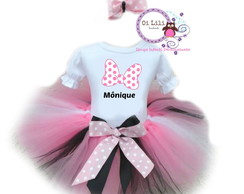 fantasia minnie rosa tutu