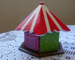 Cofre circo em Mdf