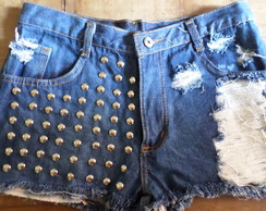 Shorts jeans, Hot Pants destroyed