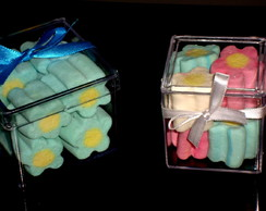 Lembran�a Caixa com Marshmallows