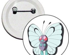 Boton 4,5cm Pokemon ButterFree