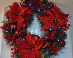 Guirlanda de Natal com Flores (n.11)