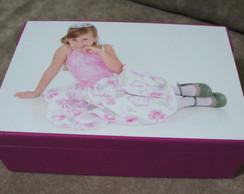 Caixa personalizada com a SUA foto