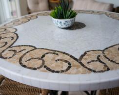 Mesa em Mosaico de M�rmore