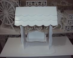 Balan�o de mesa c/ telhado Aluguel