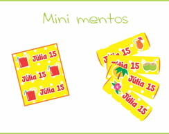 Mini Mentos - Festa Tropical