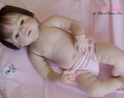 Boneca Reborn Dafne SILICONE
