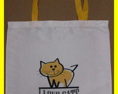 Eco Bag I Love cats