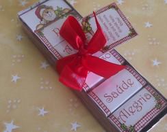 Caixa Chocolate Natal