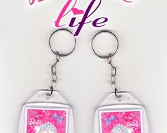 Chaveiro Barbie Life