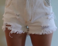 Shorts branco, Hot pants
