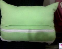 almofada coruja porta controle remoto
