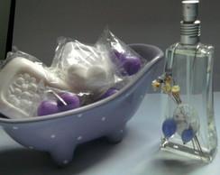 Banheira saboneteira + aroma