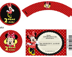 Kit Festa Digital Minnie
