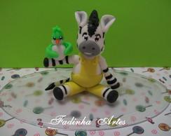Topo de Bolo Zebra ZOU