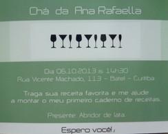 Convite Ch� De Cozinha/ Bar/ Lingerie