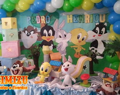 Decora��o Baby Looney Tunes
