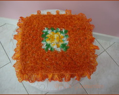 Almofada Croch� Laranja