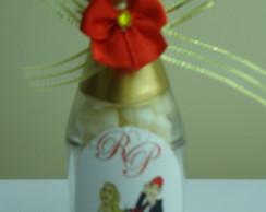 garrafinha de champagne