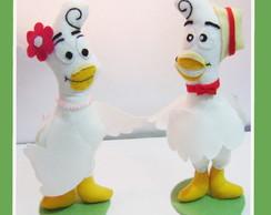 Casal pombinhos (galinha pintadinha)