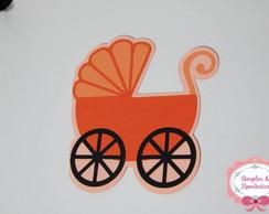 Convite Carrinho de Beb�