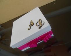 caixa branca personalizada