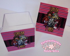 Caixinha Acr�lica da Monster High