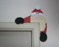 Papai Noel para batente de porta