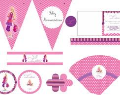 Kit festa da Barbie