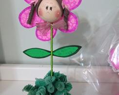 Centro de mesa - Flor boneca