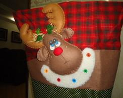 Capas de cadeira - Motivos de Natal