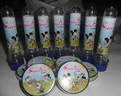 Kit 1 - Latinha + Tubete - Disney Baby