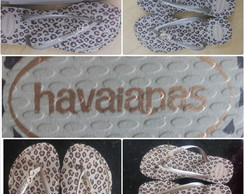 Chinelo Havaianas slim on�a