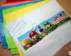 Toalha Personalizada Super Mario Bros