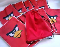 Saco Mochila Angry Birds