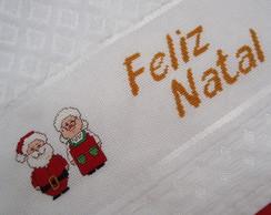 Toalha Lavabo - Natal (Feliz Natal)