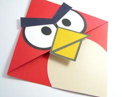 Convite e Marcador de Pagina Angry Bird