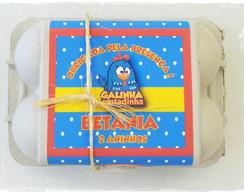 Caixinha de ovos - Galinha Pintadinha